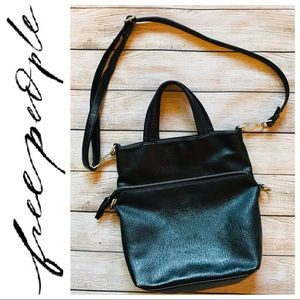 Free People | Faux Leather Crossbody Purse